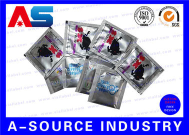 Customized Heat Sealed Aluminum Foil Pouch Oral Jelly Foil Bag Standing Up